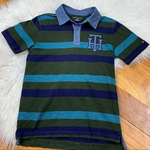 Tommy Hilfiger Boys Polo Style Short Sleeved Shirt